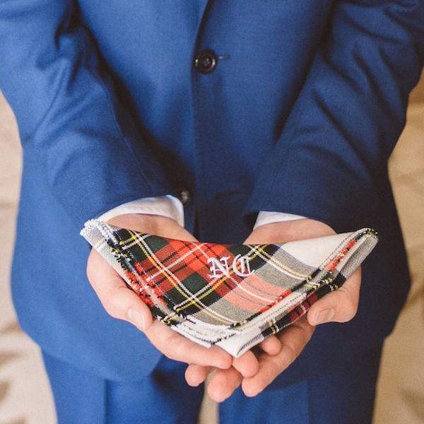 17 Perfect Plaid-Inspired Details for Winter Weddings