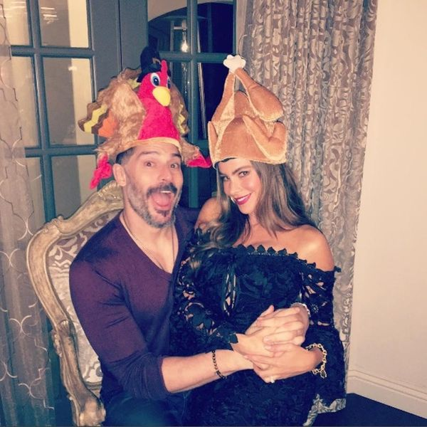 These Celeb Thanksgiving Pics Will Make You Run for Leftovers
