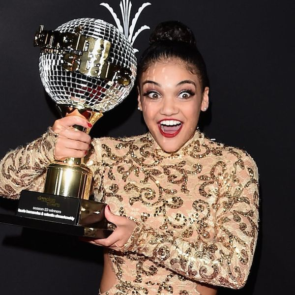 Morning Buzz! U.S. Gold Medalist Laurie Hernandez Won DWTS Giving the World Something to Smile About + More