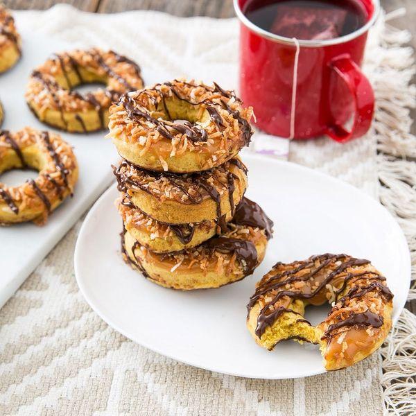 Pumpkin + Samoas = Your New Favorite Holiday Cookie Recipe