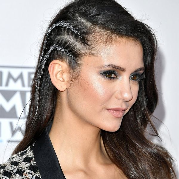 Glitter Hair: The AMAs Red Carpet Trend That's Literally the Perfect Holiday Hair Inspo