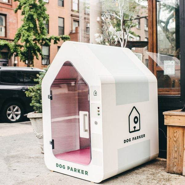This Tech-Savvy Dog House Will Keep Your Pet Safe While You Run Errands