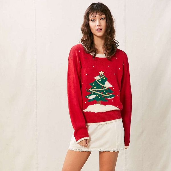 28 Festive AF Statement Pieces to Snag for an Ugly Sweater Party