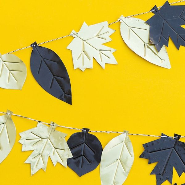 19 Festive DIY Garlands for Your Thanksgiving Get-Together
