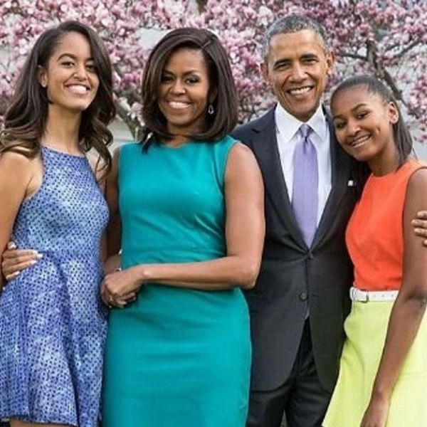 Find Out What President Obama Told Malia and Sasha About the Election