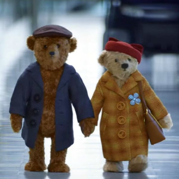 This Elderly Teddy Bear Holiday Commercial Is the Sweetest Thing EVER