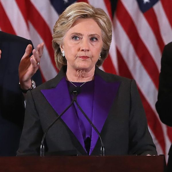 Hillary Clinton Included 2 Words in Her Concession Speech That Say What Many of Us Are Thinking