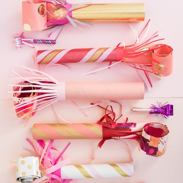 What to Make This Weekend: Giant Party Blowers, Mini Cornucopias + More