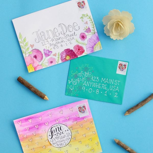 4 Ways to DIY Envelope Art for Your 7-Day Letter-Writing Challenge