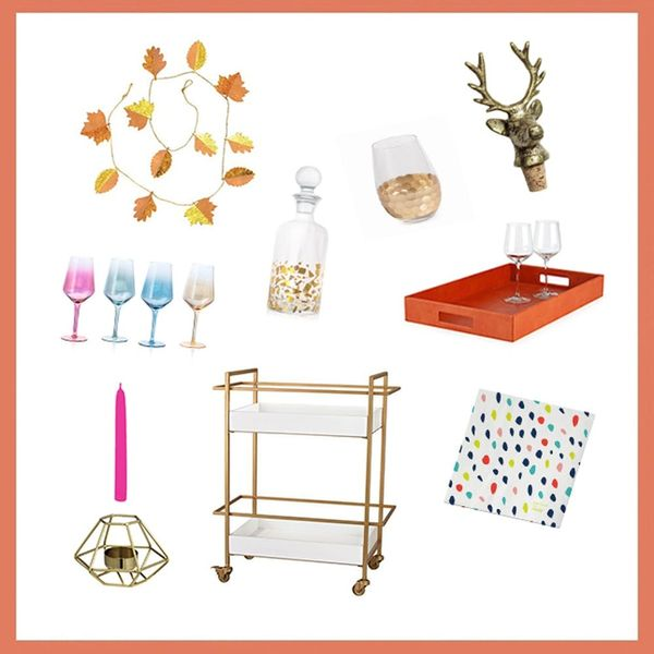 3 Festive Thanksgiving Decor Ideas for Your Bar Cart