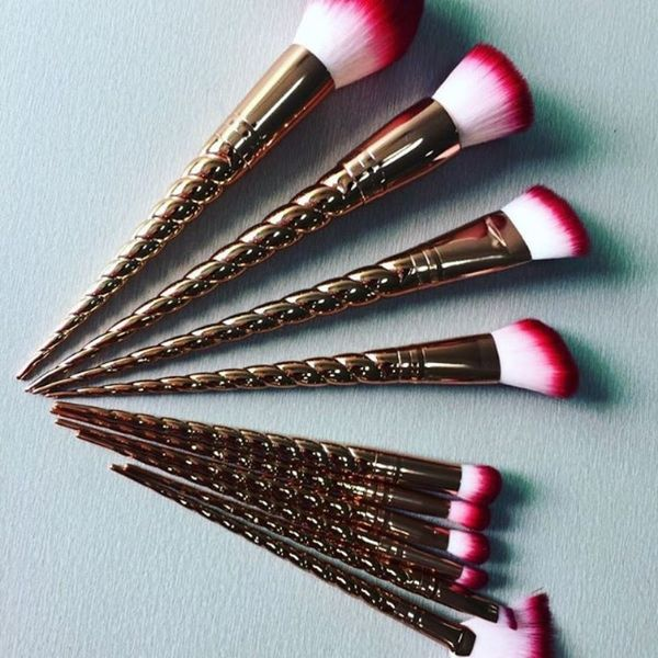 Unicorn Makeup Brushes Will Soon Come in Rose Gold