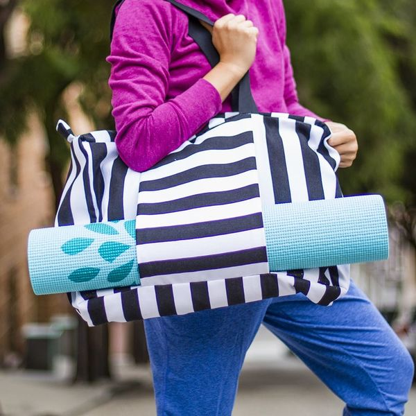 This DIY Gym Bag Will Give Your Workout a Serious Upgrade