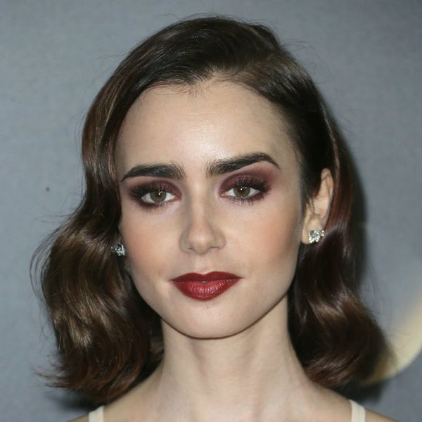 Lily Collins Just Channeled Belle from Beauty & the Beast on the Red Carpet