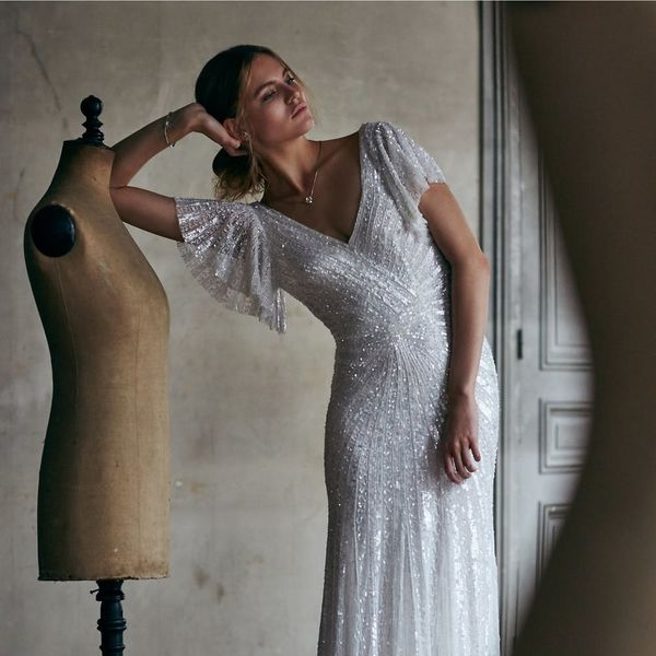 15 Wedding Dresses That Sparkle and Shine