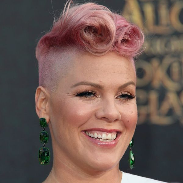 """Pink Just Announced Her Pregnancy + Debuted Her Baby Bump With One """"Perfect"""" Fall Photo"""