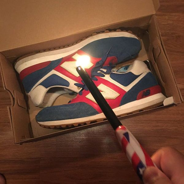 Why Are People Burning Their New Balance Sneakers?