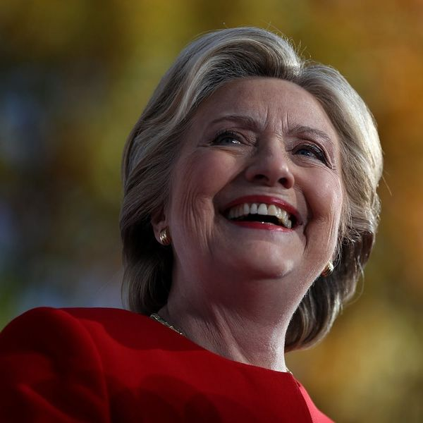 Hillary Clinton Might Still Win the Election, Though It's a Small Chance