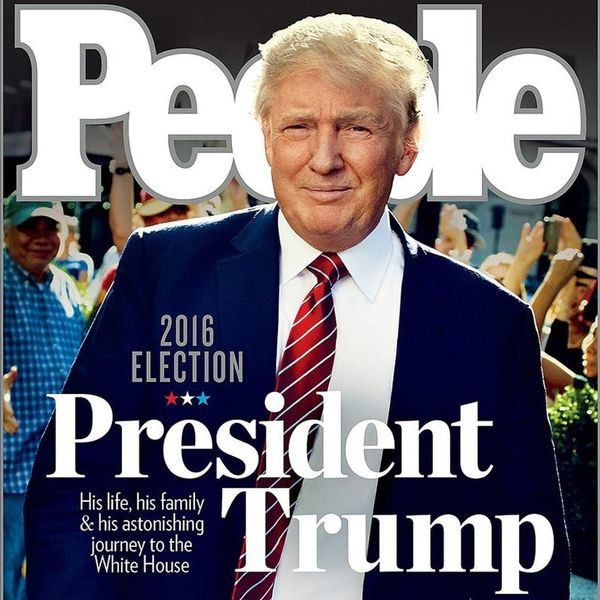 Find Out Why Folks Are FREAKING OUT Over People's Trump Cover