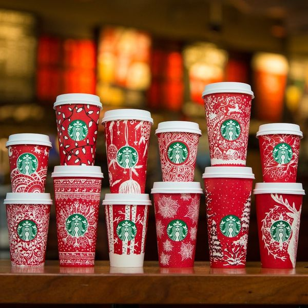Starbucks FINALLY Officially Unveiled Their 2016 Holiday Red Cups