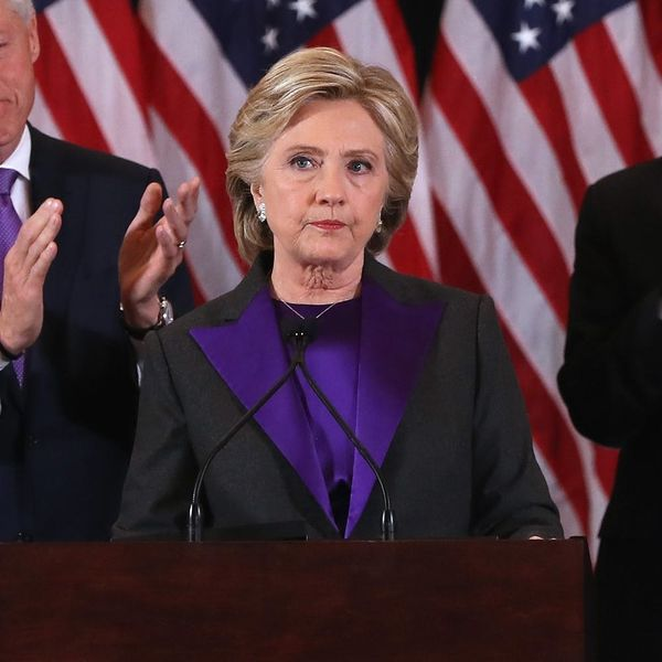 Hillary's Concession Speech Suit Carries a Powerful Secret Message