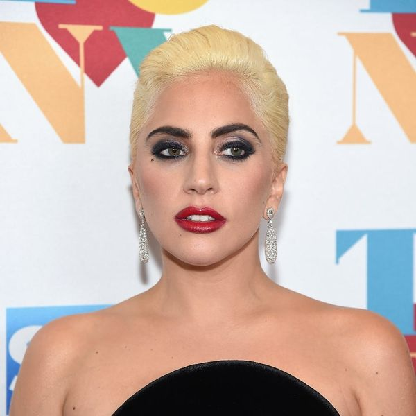 Check Out Lady Gaga's Protest Outside Trump Tower