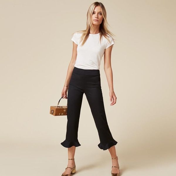 15 Pairs of Frilly Hem Trousers Lazy Girls Will LOVE