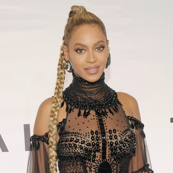 Beyoncé Just Slayed the Campaign Trail in a Polka Dot Pantsuit