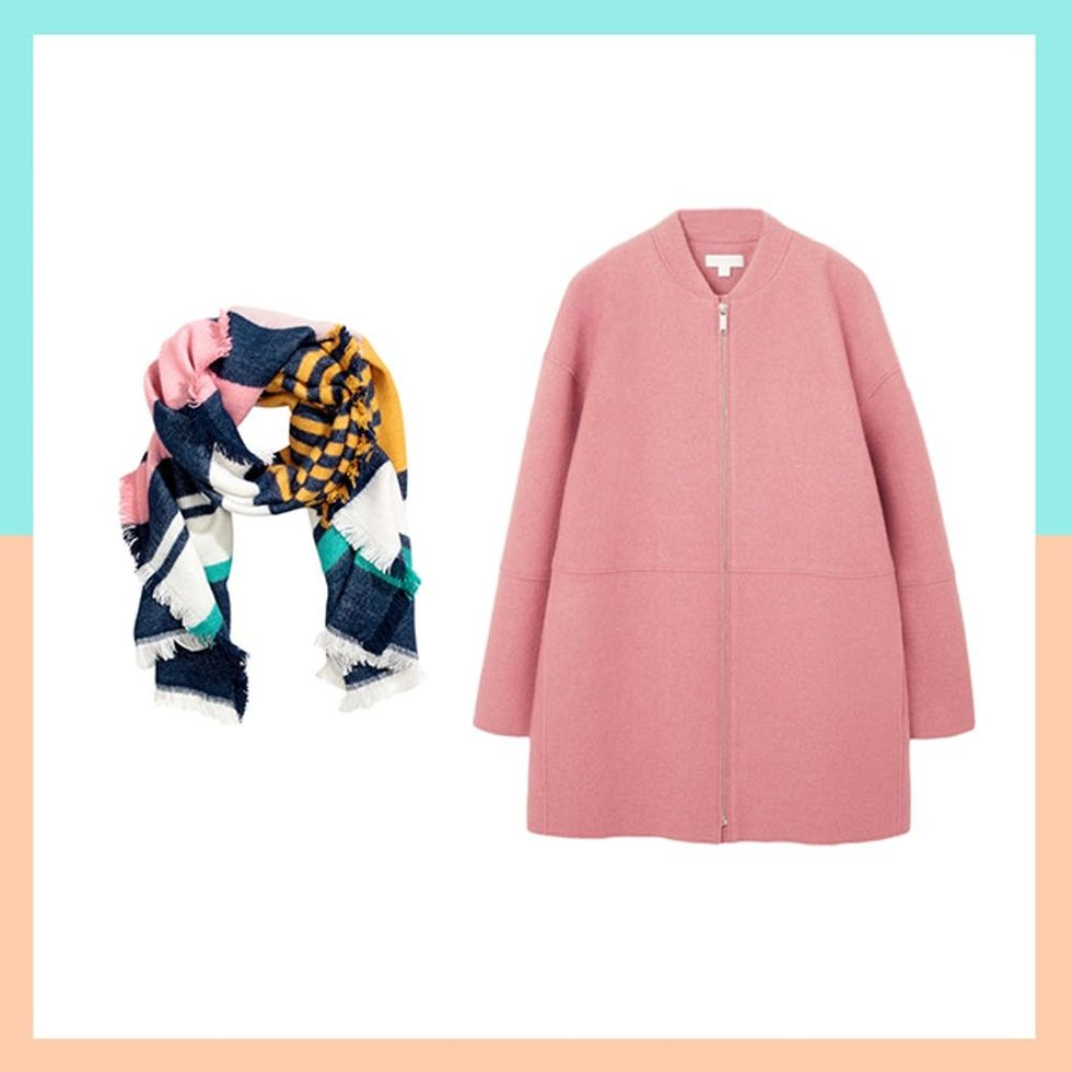 11 Jacket and Scarf Pairings to Snuggle Up in All Season Long