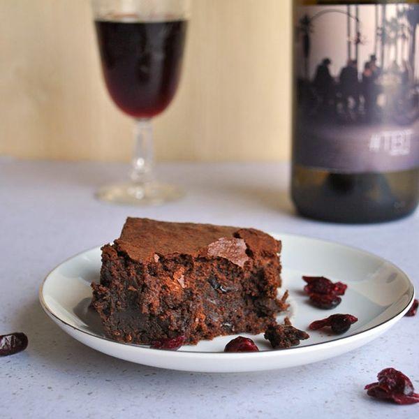 YUM! Red Wine Brownies Now Exist