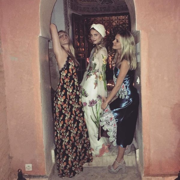 8 Style Lessons We Learned from Dianna Agron's Secret Moroccan Nuptials