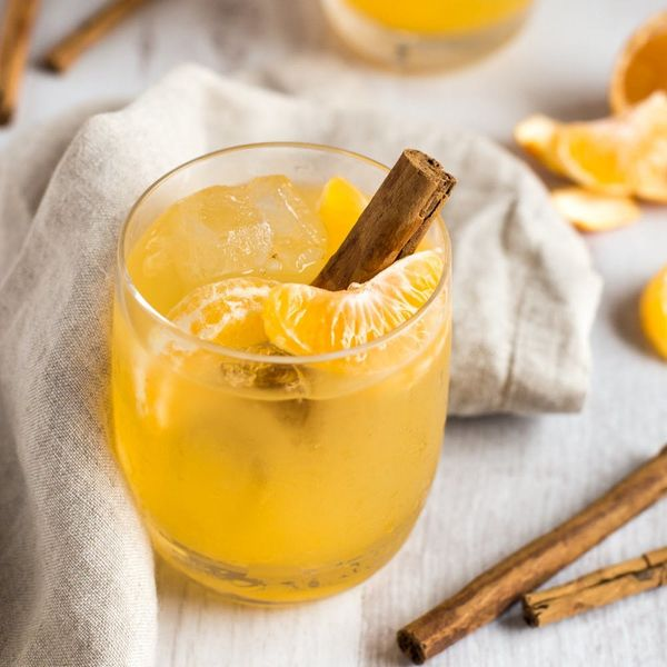 This Clementine Whiskey Smash Is Your New Fave Fall Cocktail