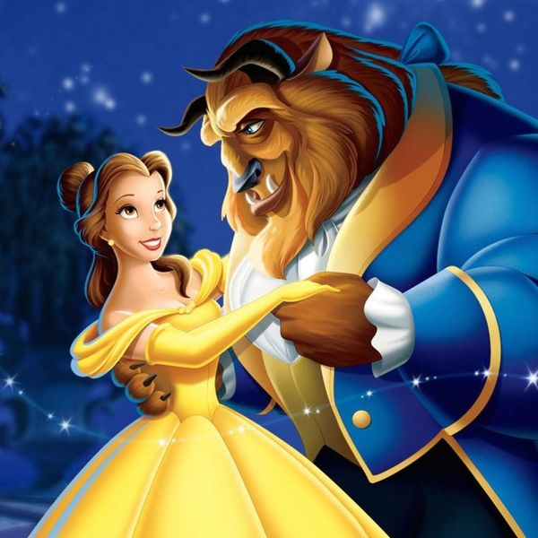 Here's Your First Look at the Beast With Belle in Disney's New Live-Action Film