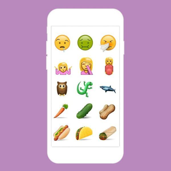 OMG! 72 Amazing New Emoji Are on the Way