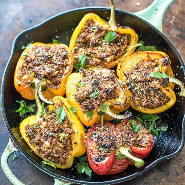 21 Veggie Stuffed Pepper Recipes for Your Meatless Monday