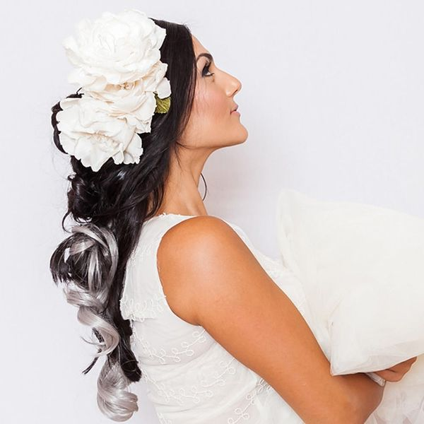 This Romantic Knotted Wedding Updo Is the Stuff of Fairy Tales