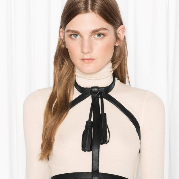 This Cool-Girl Leather Collection Will Have You Adding a Harness to Your Fall Wardrobe