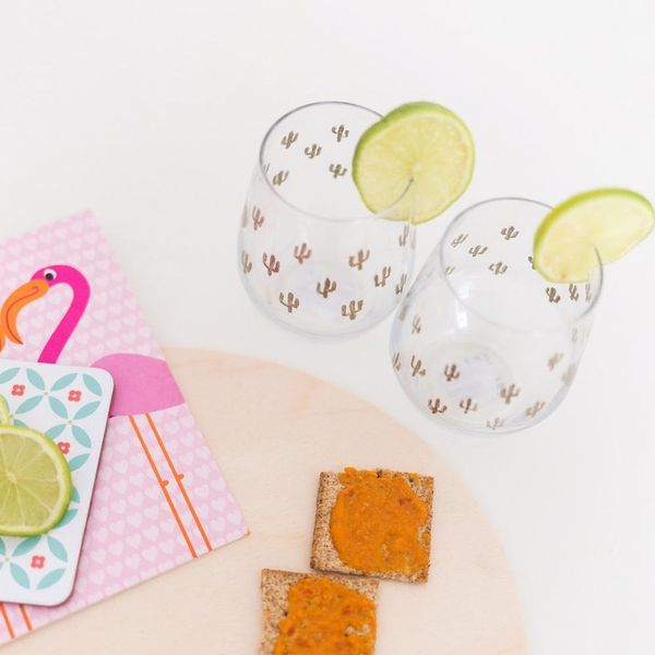 DIY These Urban Outfitters-Inspired Cacti Glasses in Minutes