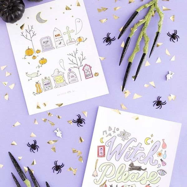 22 Wicked Cool Printables for Your Last-Minute Halloween Party