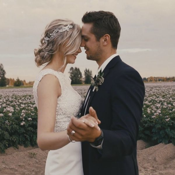 This Rustic-Glam Wedding Is Straight Out of Your Fave Movie