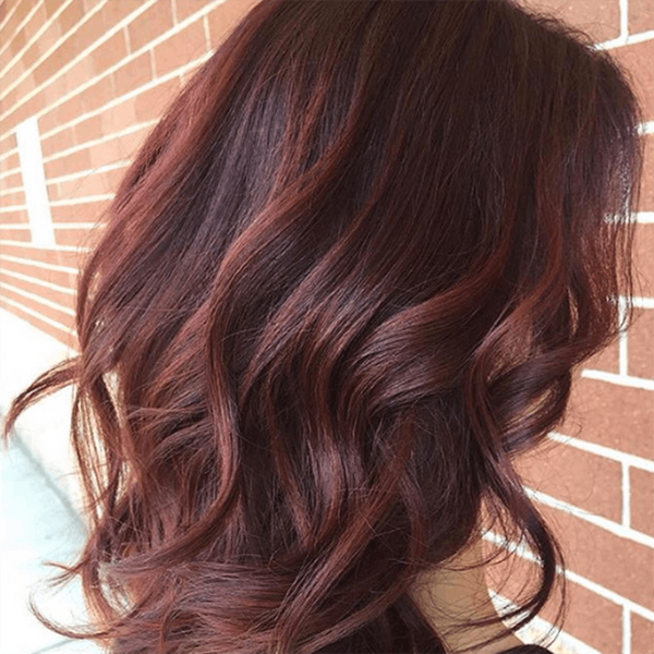 This Trending Chocolate-Mauve Shade Is Perfect for Brunettes