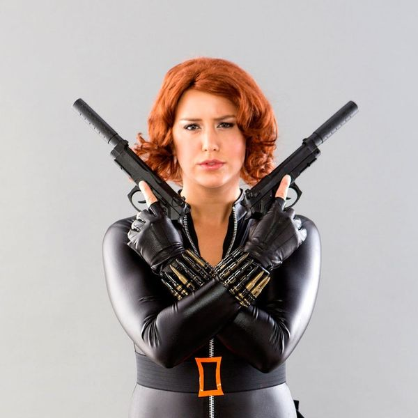 How to Make a Black Widow from The Avengers Costume