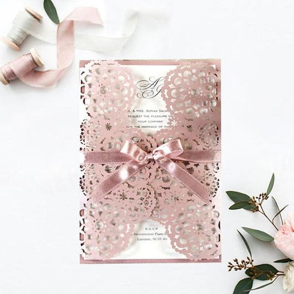 20 Embossed Wedding Invitations That Will Give You All the Feels (Literally!)