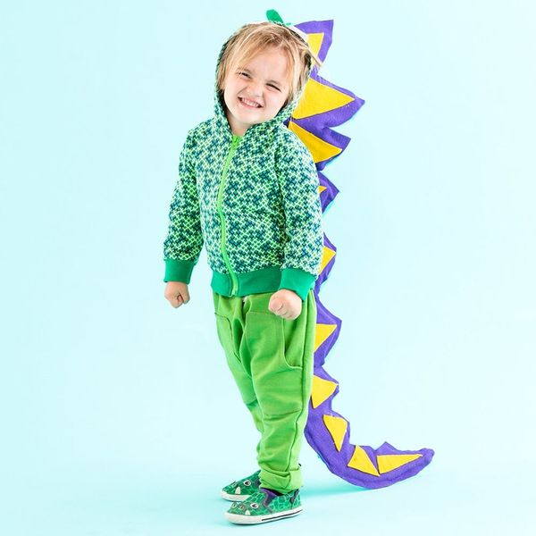 This Hack Will Let You Customize the Perfect Dinosaur Costume for Your Toddler