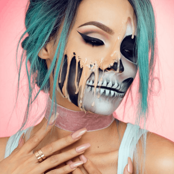 10 Over-the-Top Halloween Makeup Looks to Try This Year
