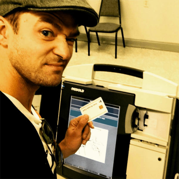 PSA: A Selfie With Your Election Ballot Is Probably a Terrible Idea