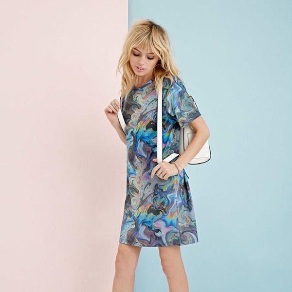 20 Graphic Print T-Shirt Dresses That Bring Instant Swagger