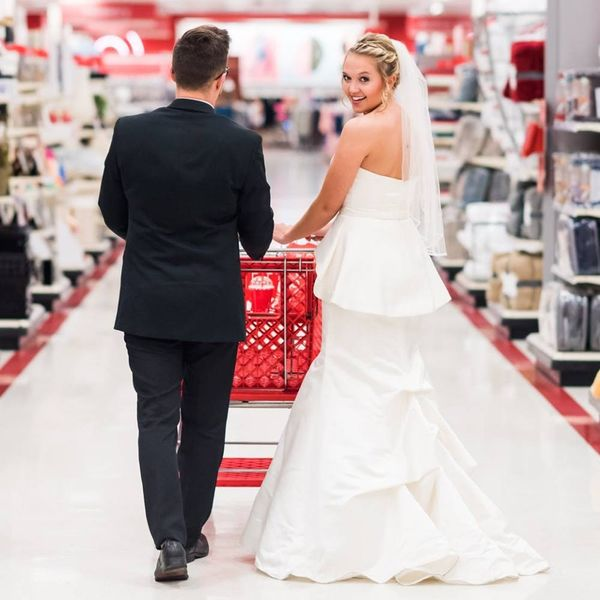 You *NEED* to See This Couple's Target-Themed Anniversary Shoot
