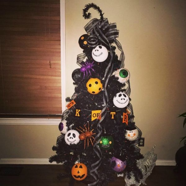 Halloween Christmas Trees Are the Instagram Trend You Never Knew You Needed