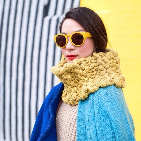 9 Foolproof Ways to Style a Scarf This Fall, According to These Instababes