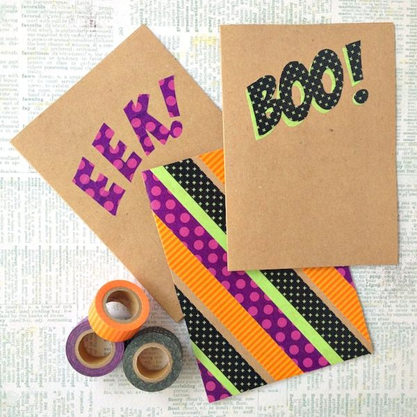 19 Halloween Decorations You Can DIY With Washi Tape